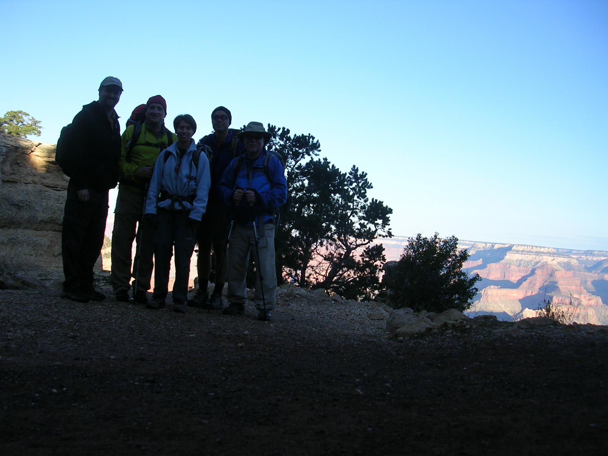 (L to R) Dan, Steve, Susan, Brian, Hanley
