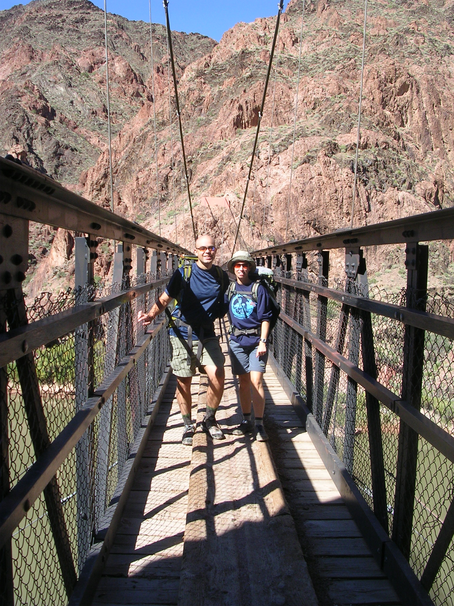 Brian and Susan on Black bridge