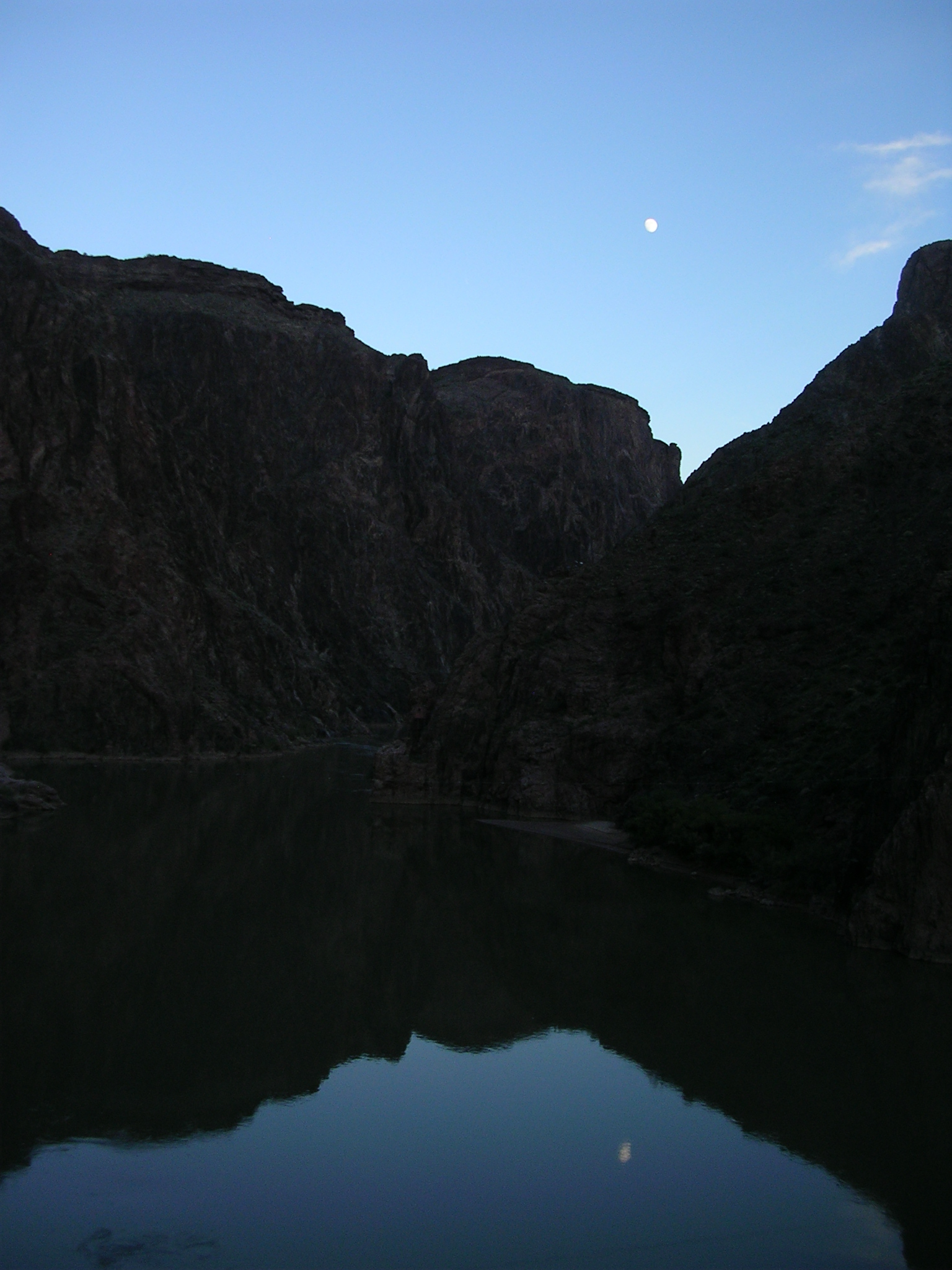 Moonrise on the Colorado