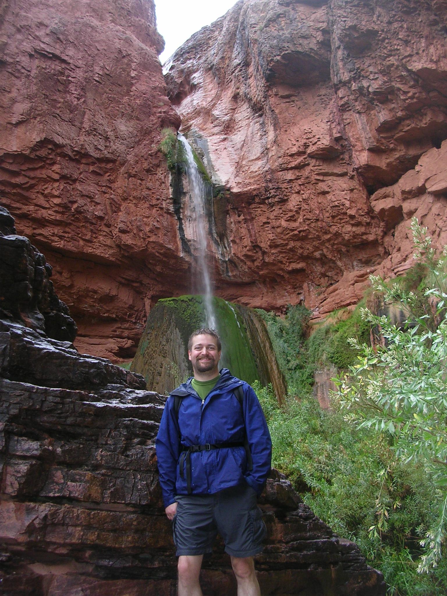Lower Ribbon Falls on Dan's Head