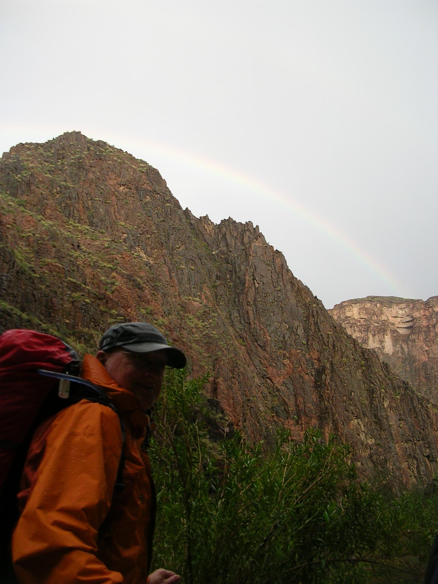 Steve + Rainbow