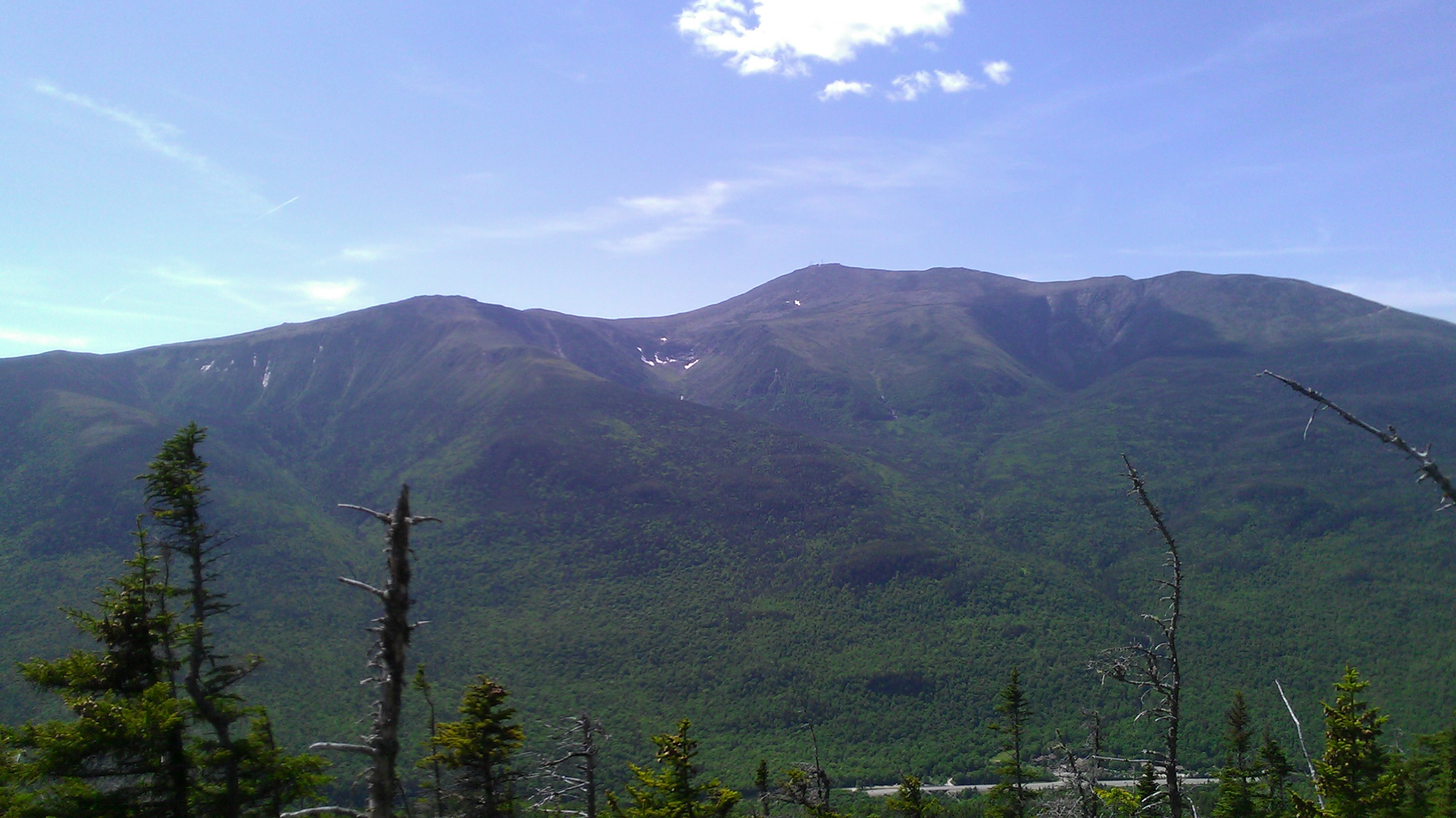 Mt. Washington from Wildcat Ridge Trail
